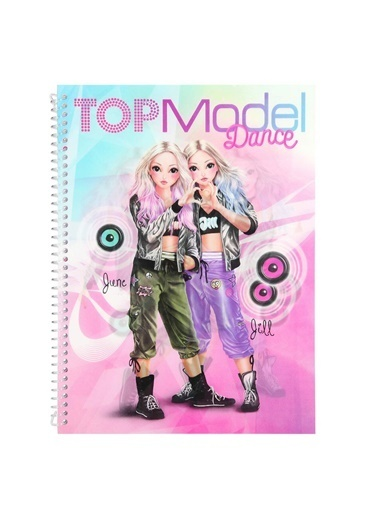 Top Model Topmodel Dance Aktivite Kitabı 0202 Renkli